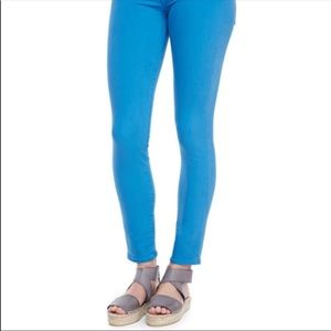 Vince Ankle Crop skinny jean  Blue Size 30